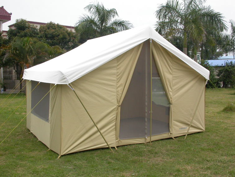646CF White Canvas Rain Fly & Optional Canvas Rain Fly | For Pinnacle Canvas Tent 646