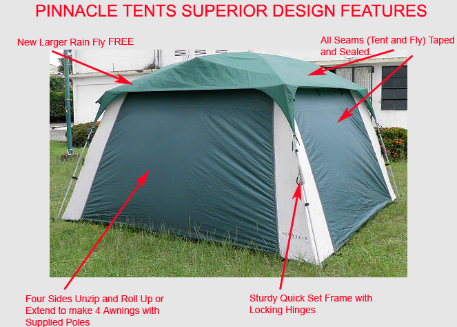 ... Screen Tent 682 - Screen Room Tent With Rain Fly Specifications & Screen Tent - Quick Set | With Sides | All-Weather Screen Camping Tent