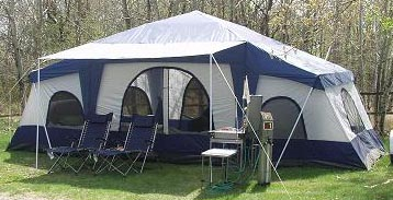 ... 4 Room Cabin Tent - Pinnacle Tents Cabin Tent 770 ... & Deluxe 4 Room Cabin Tent 24u0027x10u0027 | Large Camping Tent | Sleeps 12-16
