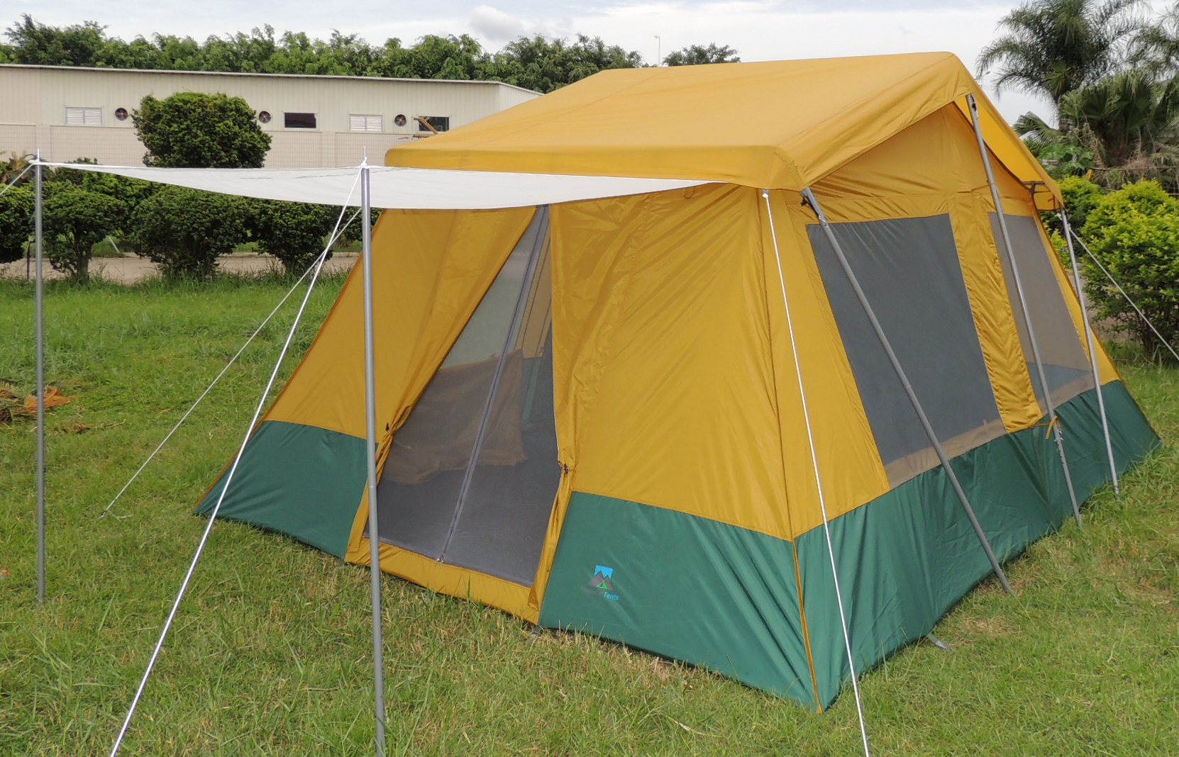 Cabin Tent - Two Room & Two Room Cabin Tent 10u0027 x 14u0027 | Two 10u2032x7u2032 Cabins | Rugged Frame