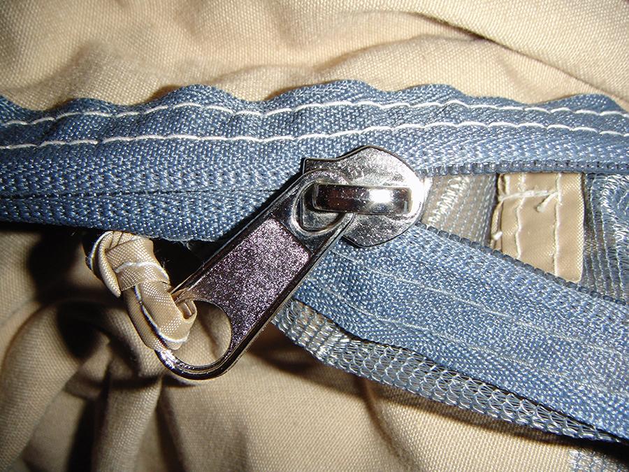 ... Canvas Tents 644 - Zipper Detail ... & Canvas Tents 9u0027x12u0027 | Canvas Camping Tent | All-Weather Canvas Tents