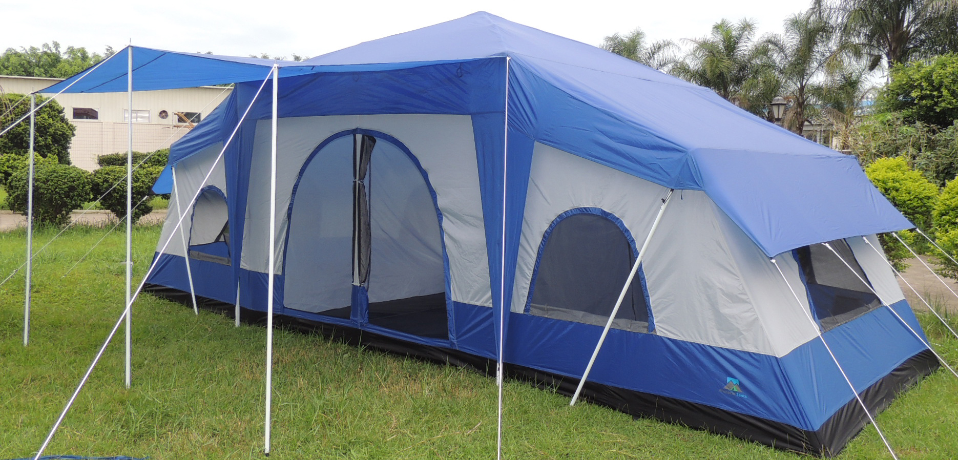 Cabin Tent - 4 Room : two bedroom tents - memphite.com