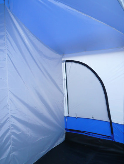 Deluxe 4 Room Cabin Tent 24 X10 Large Camping Tent