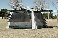 Screen Tent With Rain Flaps All Weather Screened Canopy