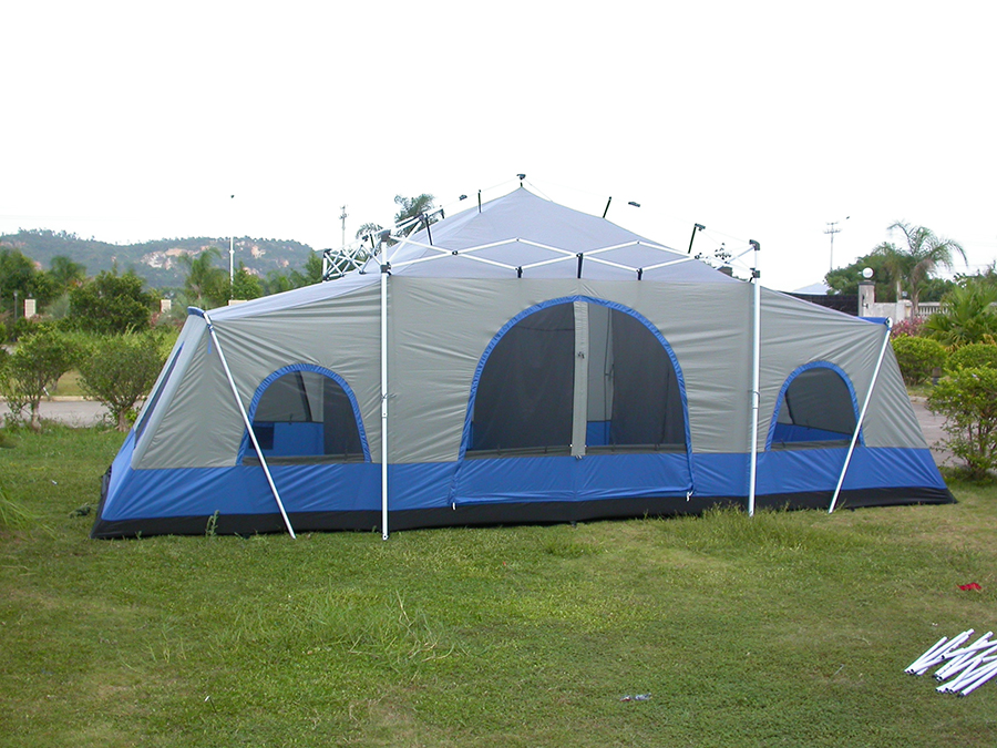 ... Cabin Tent 770 - Inner Tent ...  sc 1 st  Pop Up Tents Cabin Tent Canvas Tents Screen Tents Dome Wall Tents & Deluxe 4 Room Cabin Tent 24u0027x10u0027 | Large Camping Tent | Sleeps 12-16