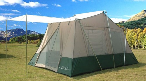 Two Room Cabin Tent 13 X 8 6 Person Camping Tent