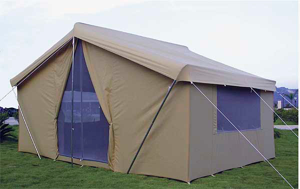 Canvas tent canvas camping tents canvas tents for How to build a canvas tent frame