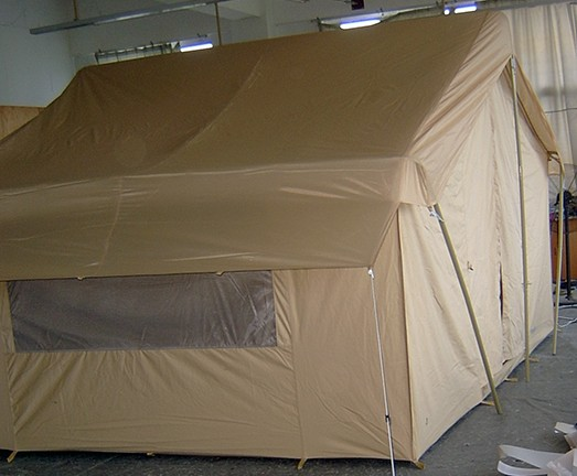 Canvas tents 9 39 x12 39 canvas camping tent all weather for Canvas tent fly