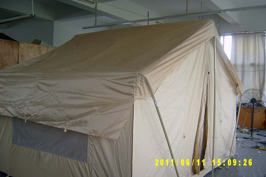 ... Canvas Tent 644 - Tent shown With Optional Rain Fly ... & Canvas Tents 9u0027x12u0027 | Canvas Camping Tent | All-Weather Canvas Tents