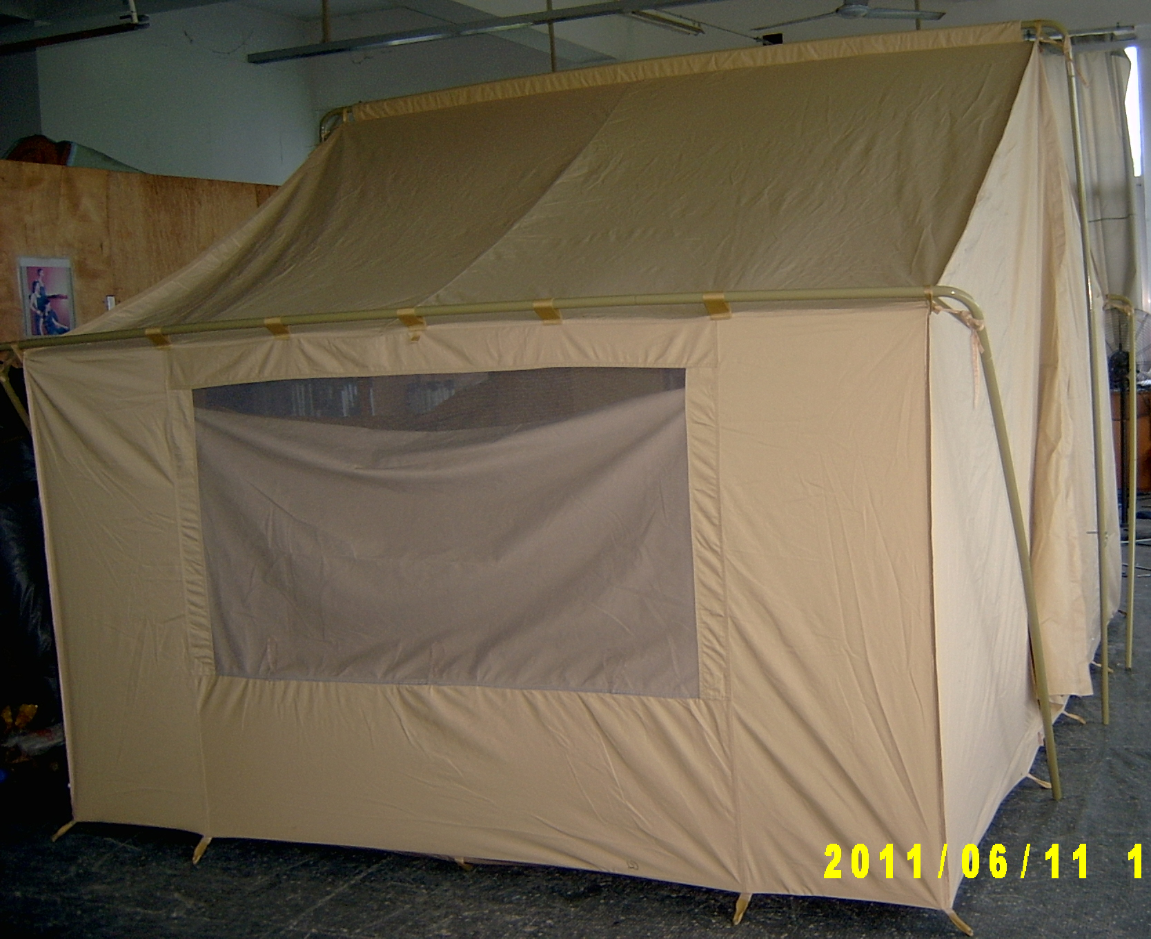 ... Canvas Tent 644 - Window ... & Canvas Tents 9u0027x12u0027 | Canvas Camping Tent | All-Weather Canvas Tents