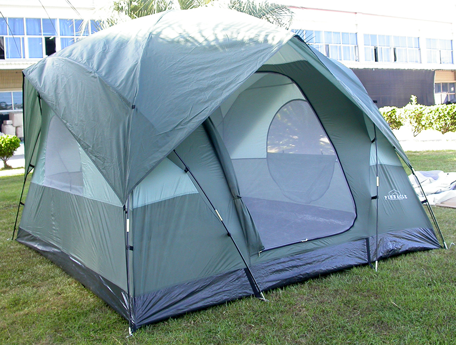 5 Person Dome Camping Tent 8 X 10 Geo Frame Design