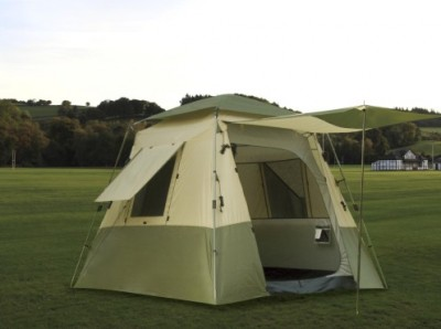 Quick Set Stand Up Dome Tent- 8u0027x8u2032 & 5-Person Dome Camping Tent 8u0027 x 10u0027 | Geo Frame Design | Waterproof