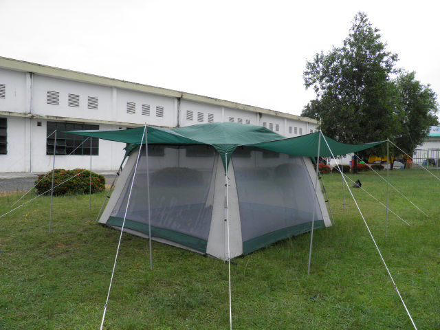 ... Screen Tent 682 - Screen Tents With Rain Fly and Extended Awnings ... : canopy tent with screen sides - memphite.com