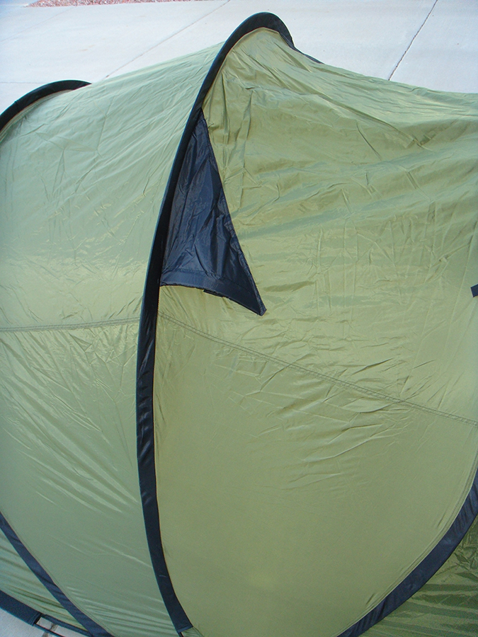 ... Pop Up Tent Adjustable Roof Vent Three Person ... & 3-Person Pop Up Camping Tent | 3 Second Setup | Lifetime Warranty