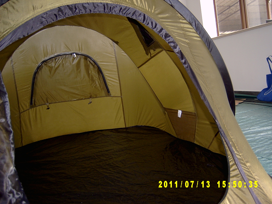 ... Three Person Pop Up Tent XP3033-3 - Interior View ... & 3-Person Pop Up Camping Tent | 3 Second Setup | Lifetime Warranty