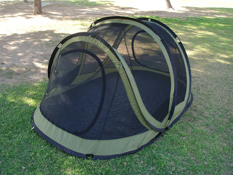 ... Self Erecting Tent - Inner Tent Storage Pocket Two Person Pop Up Tent XP4000-2 - Inner Tent Without Rain Fly ... & Self Erecting Tent With Rain Fly | Instant Setup | Full Ventilation