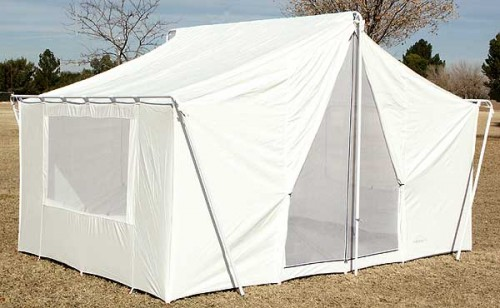 Canvas Wall Tent 646 - Canvas Tents