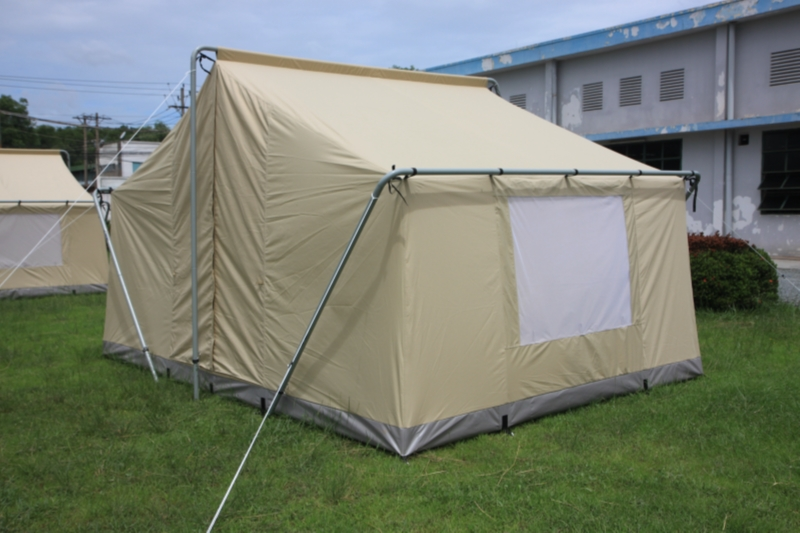 Canvas tent 9 39 x12 39 canvas camping tent durable canvas for How to make a canvas tent